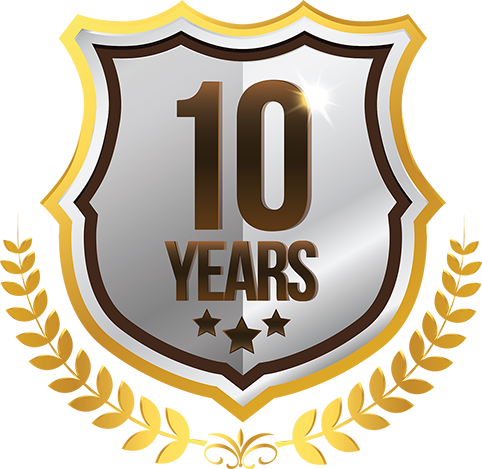Ten Years of Service